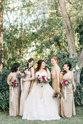 100 layer cake blogger rustic wedding chic wedding wedding dress gold dress bridesmaid