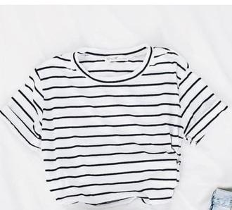 shirt white and black shirt