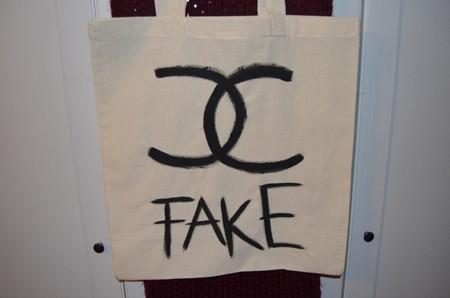 """Jutebeutel """"chanel fake"""""""