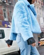 jacket,blue jacket
