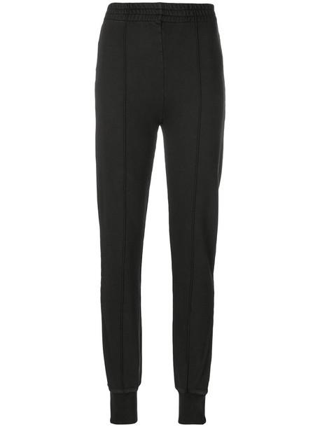 sweatpants women cotton black pants