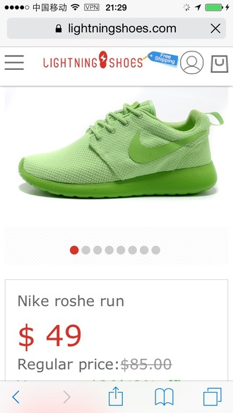 shoes nike turquiose green athleical shoes sports teal nike roshe run