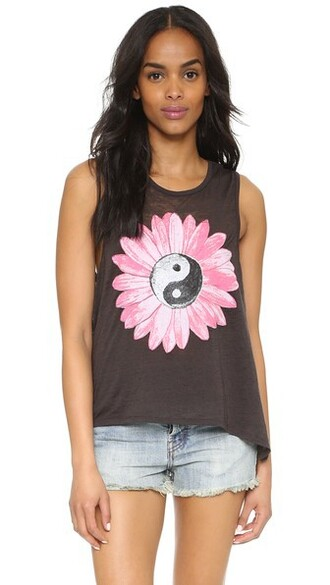 top yin yang black