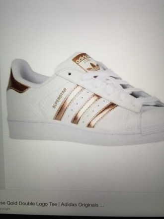 shoes rose gold adidas superstar original