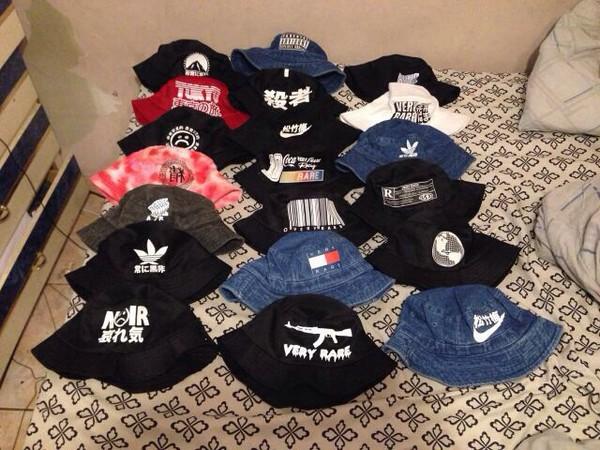 style bucket hat