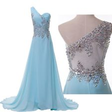 Stunning Beaded Chiffon Evening/Formal/Ball gown/Party/Pageant/Prom Dresses Long