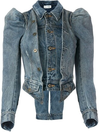 jacket denim jacket denim victorian blue