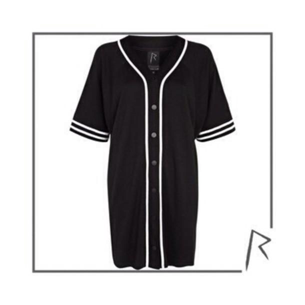 dress baseball jersey