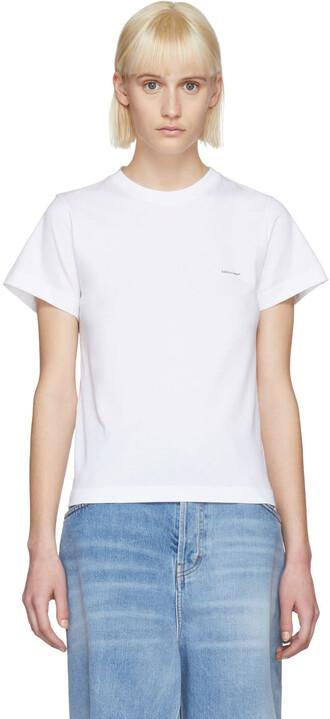 t-shirt shirt baby white top