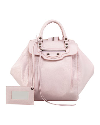 Balenciaga Classic Zip Traveler Backpack, Rose