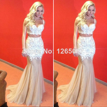 Aliexpress.com : Buy 2014 New Arrival Halter Side Cut Out Golden Beaded White Long Dress Prom Dress Fashion Gowns Chiffon Glitter Dress from Reliable dress white dress suppliers on SFBridal