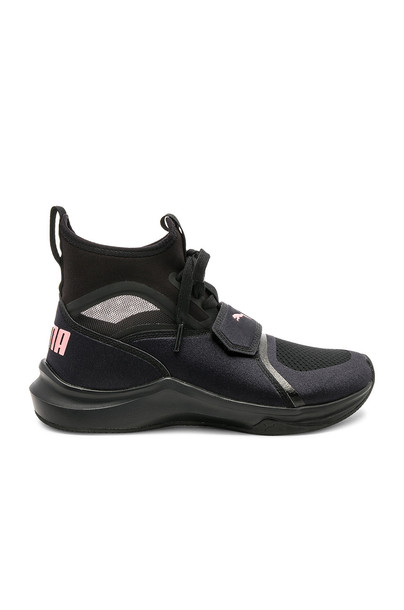 puma black shoes