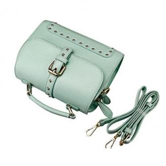bag mint shoulder bag rivets