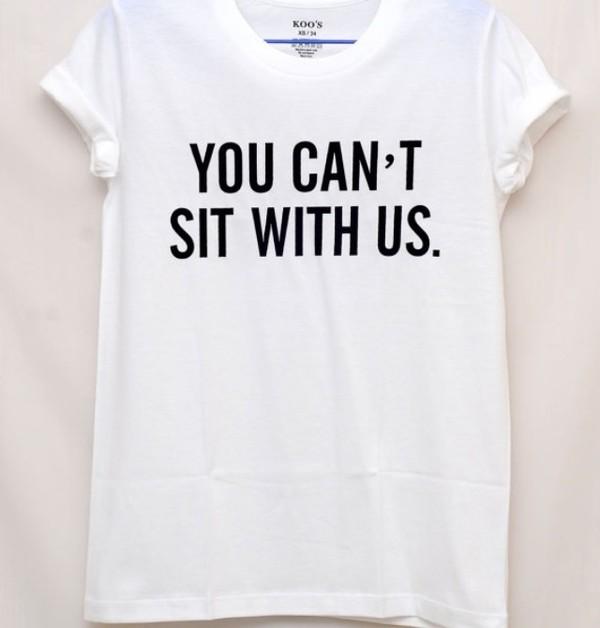 t-shirt black white t-shirt