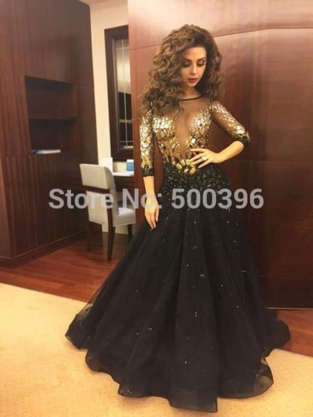 Dress Promdress2016 Prom Dress Sexy Promdress Black Dress Long