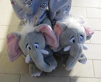 shoes elephant slippers sleepwear