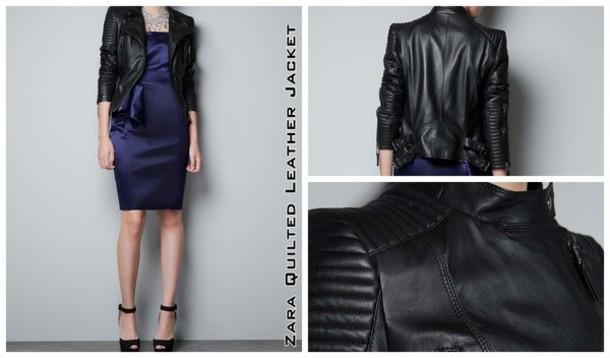 jacket zara jacket zara biker jacket black