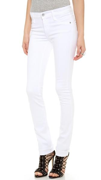 James Jeans Прямые джинсы с высокой посадкой | SHOPBOP