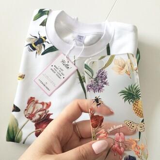 blouse yeah bunny summer summer garden nails
