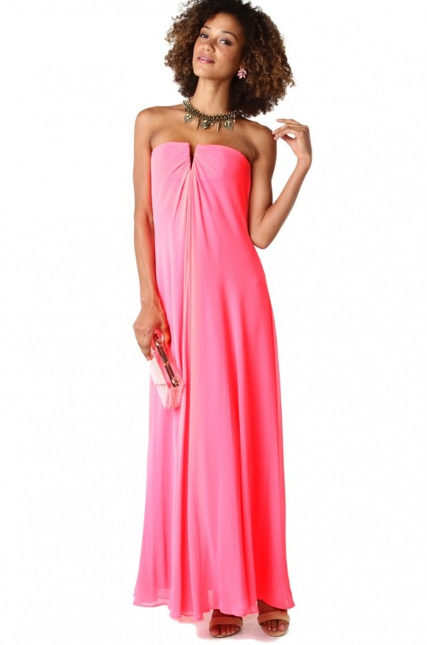 dress, maxi dress, pink dress, sexy dress, party dress, beach party ...