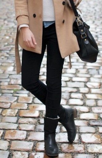 shoes boots black heels black boots fashion style cute high heels cute platforms shorts calf length leather jacket