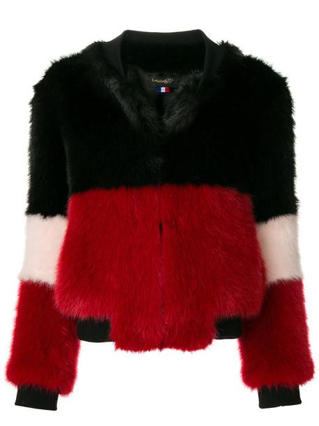 jacket women black satin