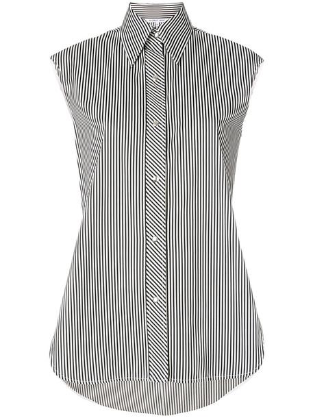 Helmut Lang blouse sleeveless women cotton top