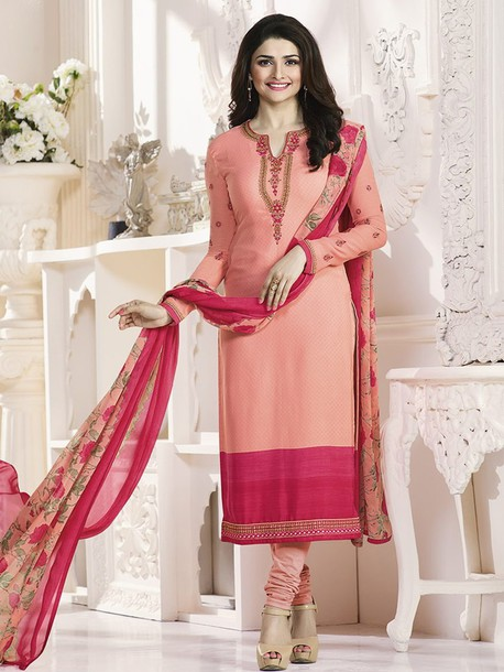 dress prachi desai indian clothing ethnic wear salwar kameez straight cut suits