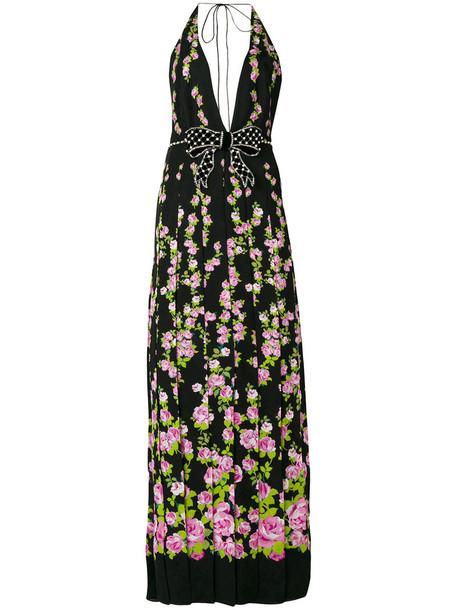 gucci dress maxi dress maxi women floral print silk