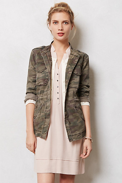 Blouson camouflage Riley - anthropologie.com