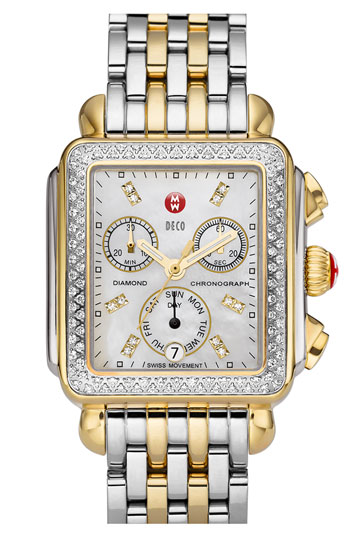 Michele Deco Diamond Watch Nordstrom