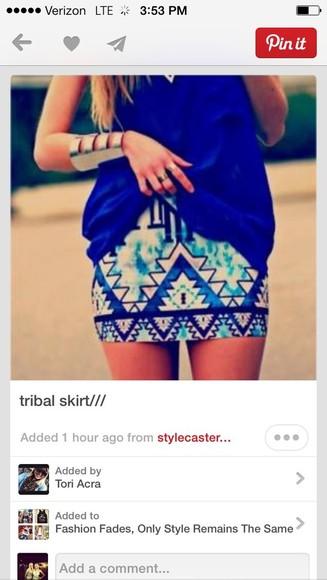 pattern skirt cute