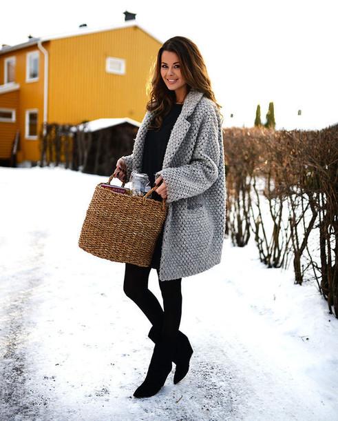 coat grey grey winter outfits winter coat black girl cardigan oversized  jacket coatigan wool coat grey