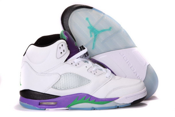 Jordan Shoes Retro 5 Grape