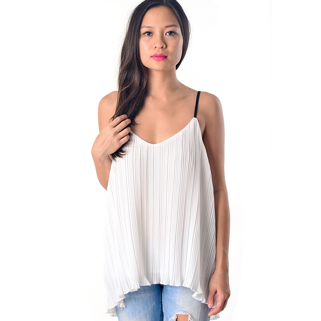 Pleat Top | Mcclaugherty