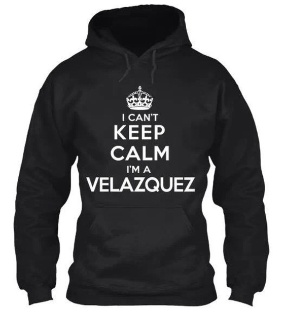 sweater ufc hoodie keep calm black and white