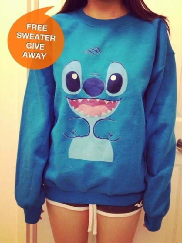 Sweater: stitch, disney - Wheretoget