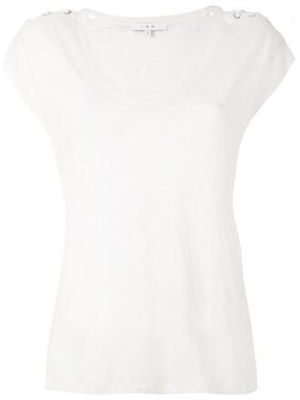 t-shirt shirt women lace white top