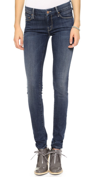 Mother The Looker Skinny Jeans - Here Kitty, Kitty