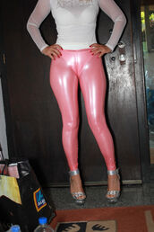 pants,latex,tight,camel toe,cameltoe,leggings,transparent