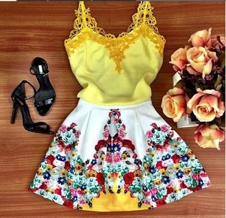 dress yellow dress pretty