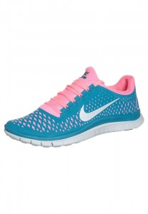 Black Friday US Sales Men's Nike Performance Nike Free 3.0 Trainers Turquoise Pink