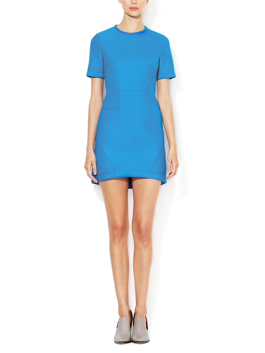 Bonded Techy Twill Dress by Tibi at Gilt