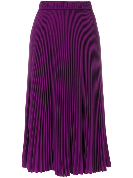 Marc Jacobs skirt midi skirt pleated women midi purple pink