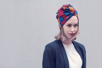 hair accessory headwraps turban turban scarf blonde hair african print african pattern african fabric african style african designs burgundy lipstick make life easier red yellow blue blogger french girl style french brand french blogger