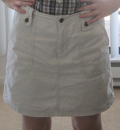 skirt,white skort,skorts,white skirt,white shorts,pockets,buttons,zip,shorts,athleta