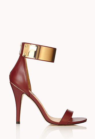 Luxe Stiletto Sandals | FOREVER21 - 2000075149