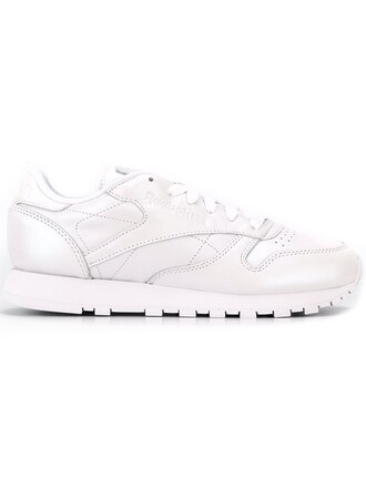 metallic women sneakers lace leather white cotton shoes