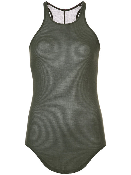 Rick Owens tank top top women silk grey