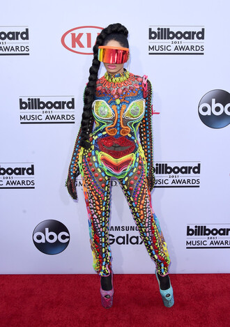 jumpsuit dencia billboard music awards colorful